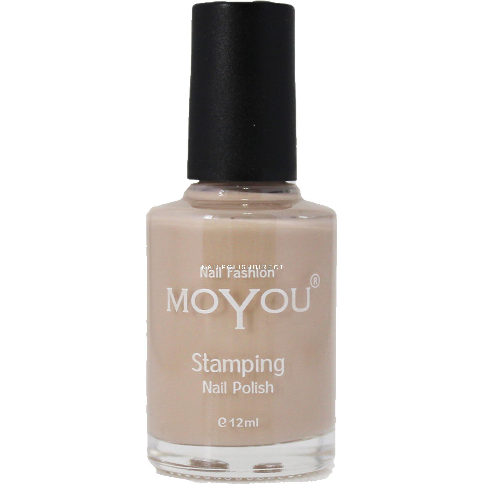 Moyou Stamping Nail Art Special Nail Polish Sandstorm 12ml