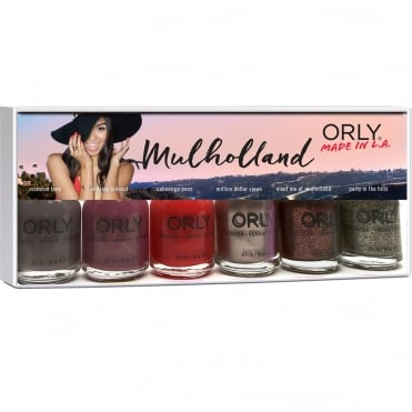 Mulholland 2016 Nail Polish Collection - (6 X 18ml)