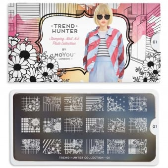Nail Art Image Plate - Trend Hunter 01