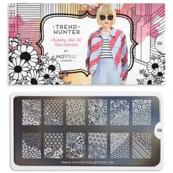 Nail Art Image Plate - Trend Hunter 06