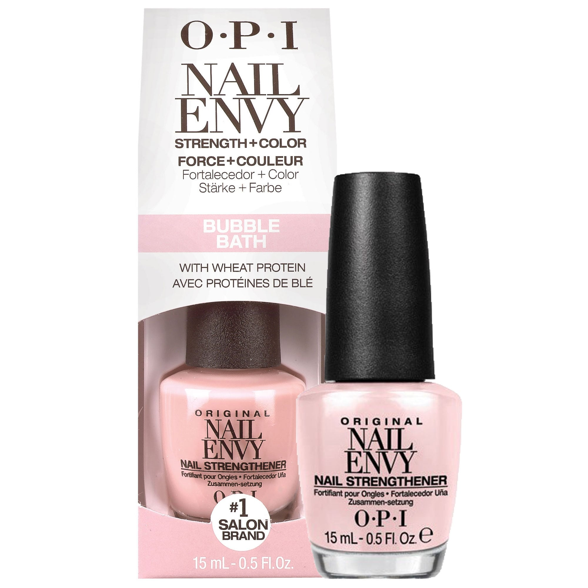 Opi Nail Envy Nail Treatment Original Nail Strengthener Formula Bubble Bath Nt222 15ml