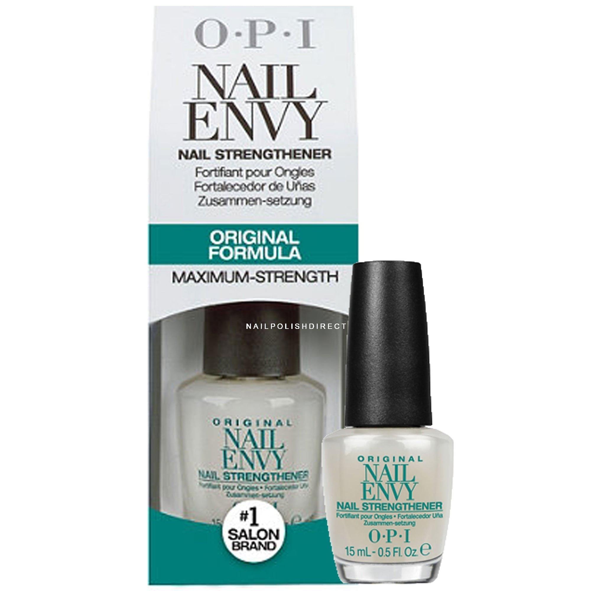 Opi Nail Envy Nail Treatment Original Nail Strengthener Formula Maximum Strength 15ml