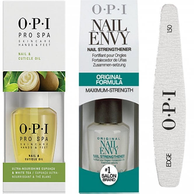 Nail Envy Legends Hours: OPI Nail Envy Original & Pro Spa Cuticle Oil & 240 Nail