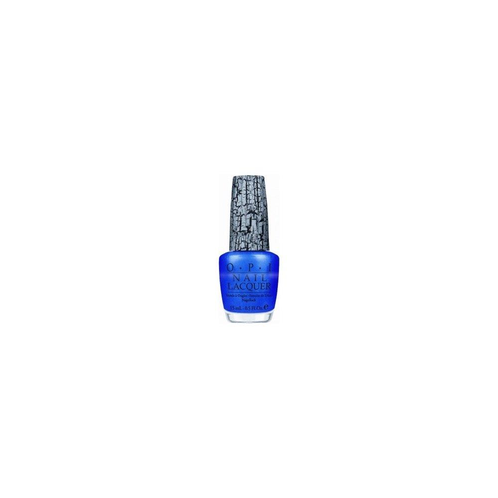 Blue Nail Varnish Uk: OPI Blue Shatter Nail Polish Top Coat