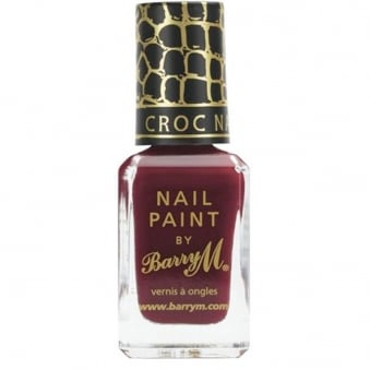 Nail Polish - Burgundy Croc 10ml (343)