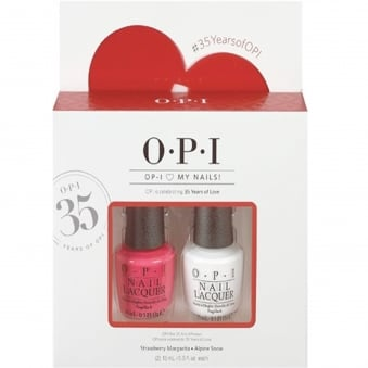 Nail Polish Collection 2016 Duo - OPI Love My Nails (x2 15ml)
