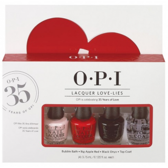 Nail Polish Collection 2016 Mini 4 Piece Set - Lacquer Love Lies (x4 3.75ml)