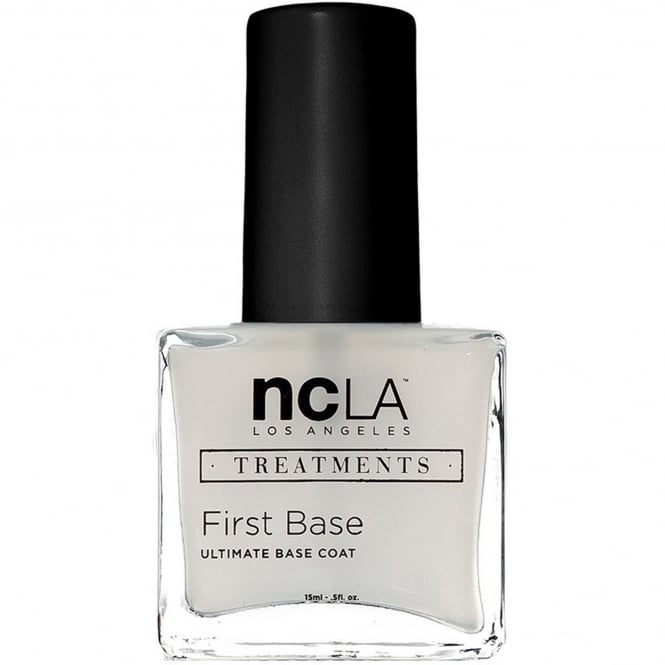 ncLA Los Angeles Nail Polish Collection Fashion Treatment Nail Lacquer Base Coat - First Base 15ml