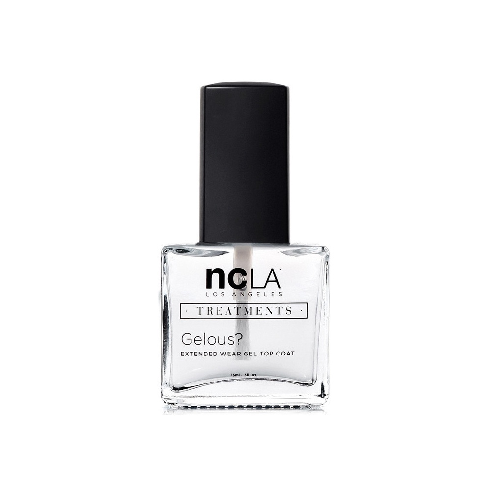 NCLA Nail Polish Collection Treatment Lacquer Extended Topcoat Gelous