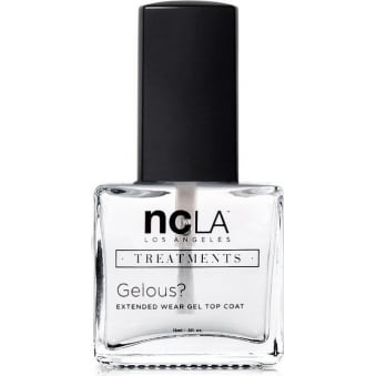 Nail Polish Collection Fashion Treatment Nail Lacquer Extended Topcoat - Gelous 15ml