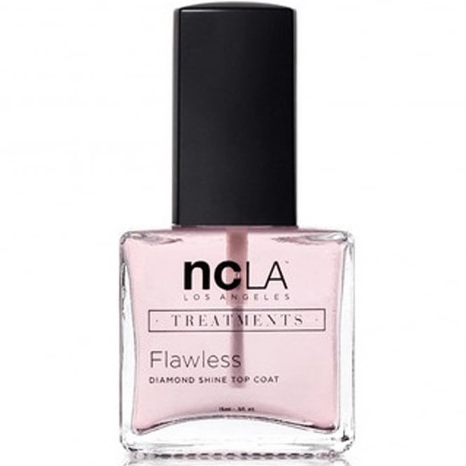 ncLA Los Angeles Nail Polish Collection Fashion Treatment Nail Lacquer High Gloss Topcoat - Flawless 15ml