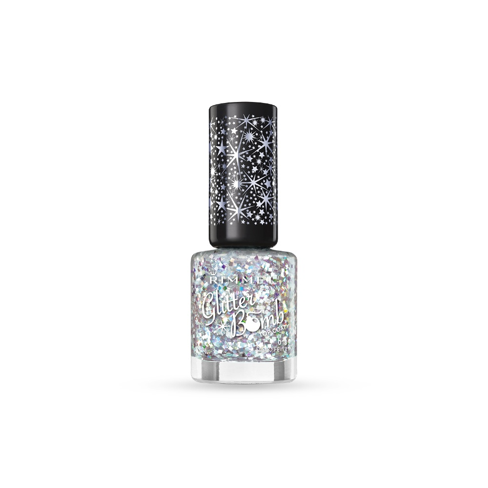 Green Glitter Nail Polish Uk: Rimmel Nail Polish Collection Glitter Bomb