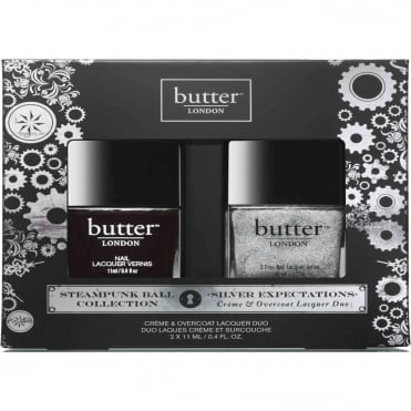 Nail Polish Collection Steampunks - Silver Expectation Duo Set (x2 11ml)