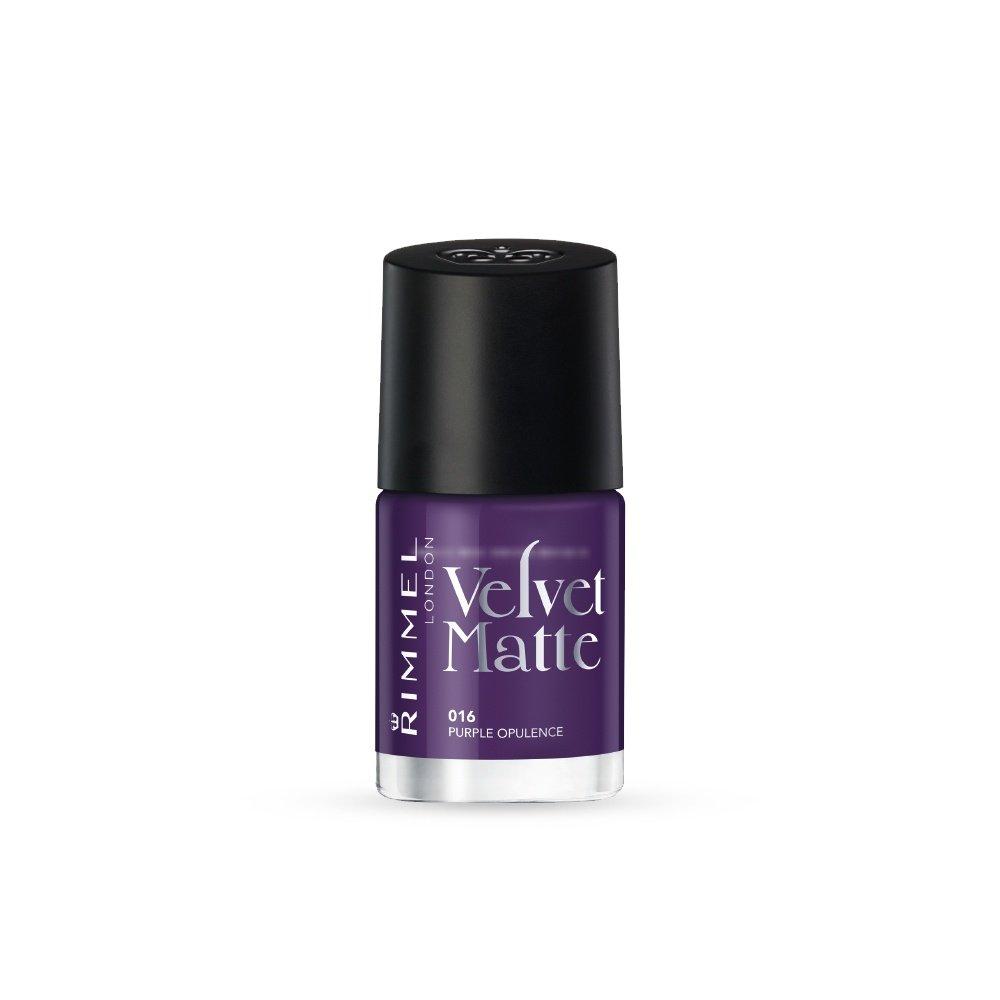 Rimmel Nail Polish Collection Velvet Matte - Purple ...