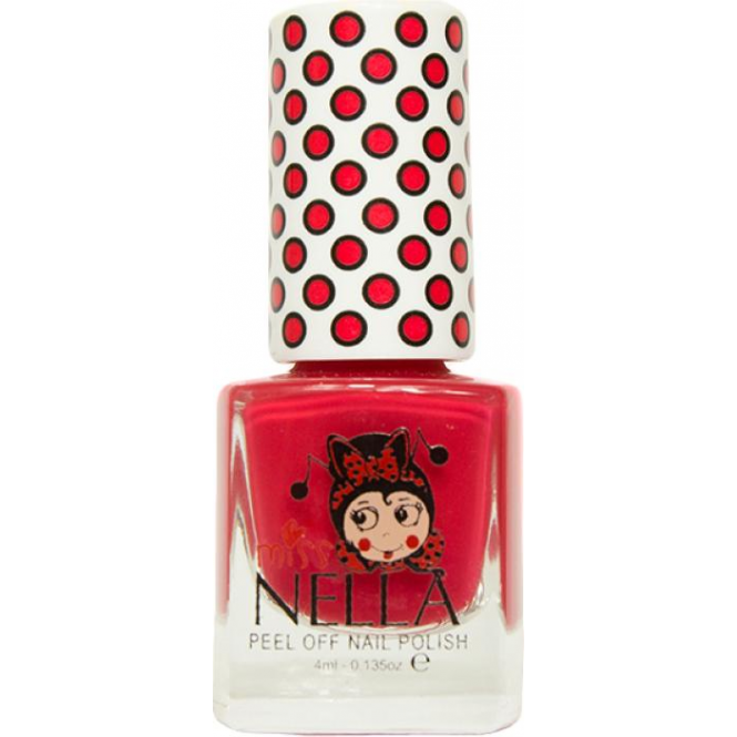 Miss Nella Nail Polish For Kids - Cherry Macaroon 4ml (MN09)