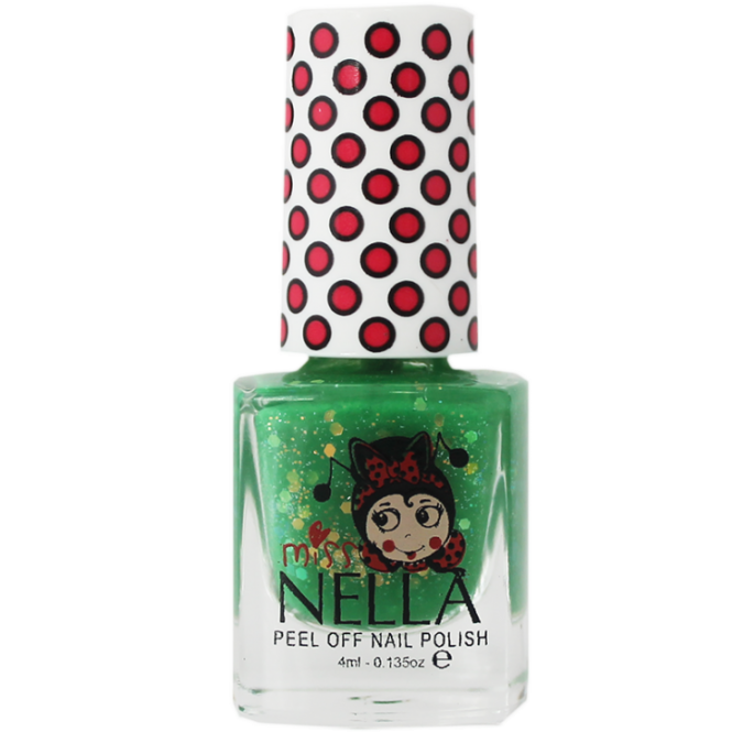 Miss Nella Nail Polish For Kids - Kiss The Frog 4ml