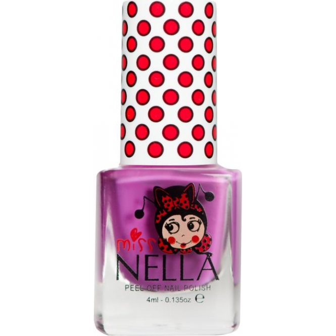 Miss Nella Nail Polish For Kids - Little Poppet 4ml (MN04)
