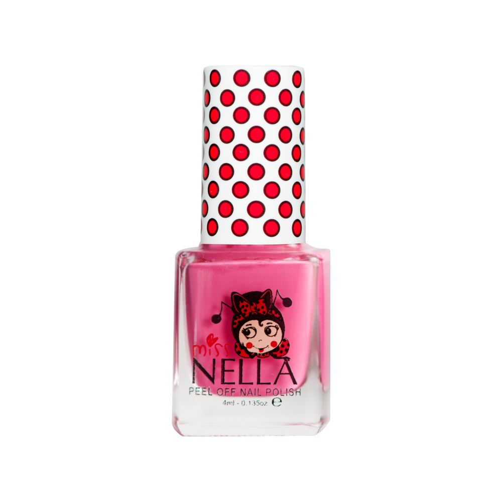 Miss Nella Nail Polish For Kids - Pink A Boo 4ml Visit Us Online