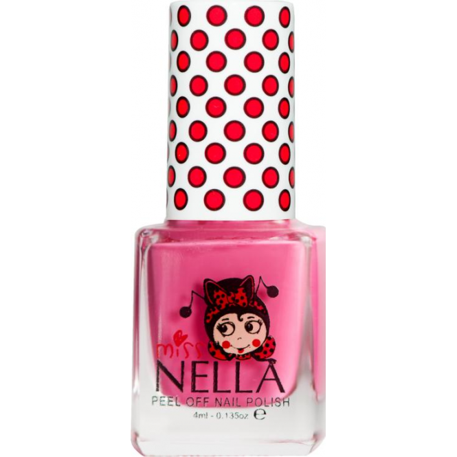 Miss Nella Nail Polish For Kids - Pink A Boo 4ml (MN03)