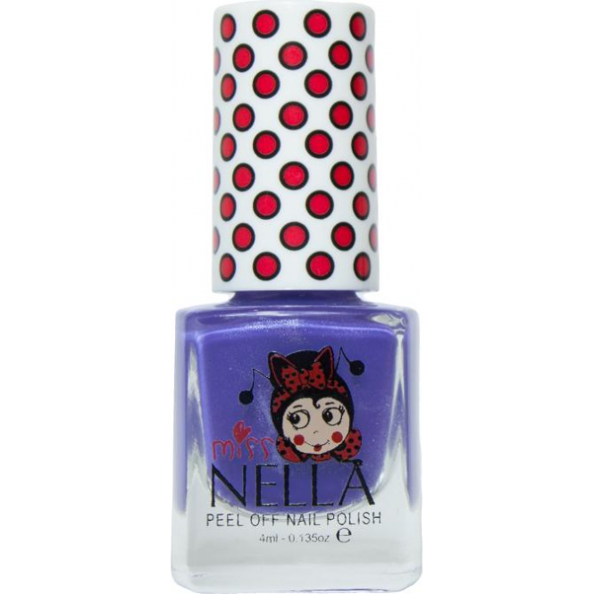 Miss Nella Nail Polish For Kids - Sweet Lavender 4ml (MN11)