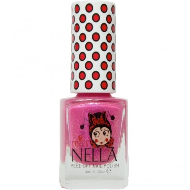 Miss Nella Nail Polish For Kids - Tickle Me Pink 4ml (MN10)