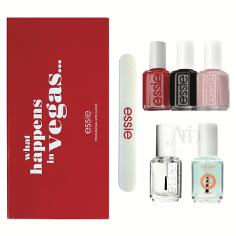 Nail Polish Kit - What Happens In Vegas - (5 X 13.5ml) (1 x Nail File)