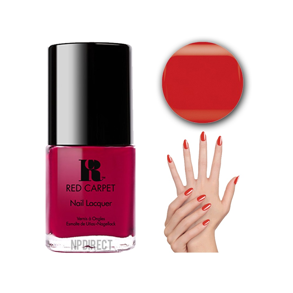 Red Carpet Manicure Nail Polish Lacquer Red Carpet Excl