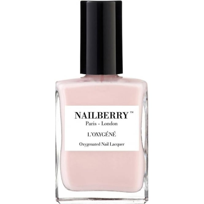 NailBerry Nail Polish Oxygenated Nail Lacquer - Candy Floss 15ml