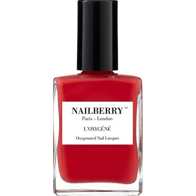 NailBerry Nail Polish Oxygenated Nail Lacquer - Cherry Cherie 15ml