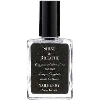 Nail Polish Oxygenated Nail Topcoat - Shine & Breathe 15ml