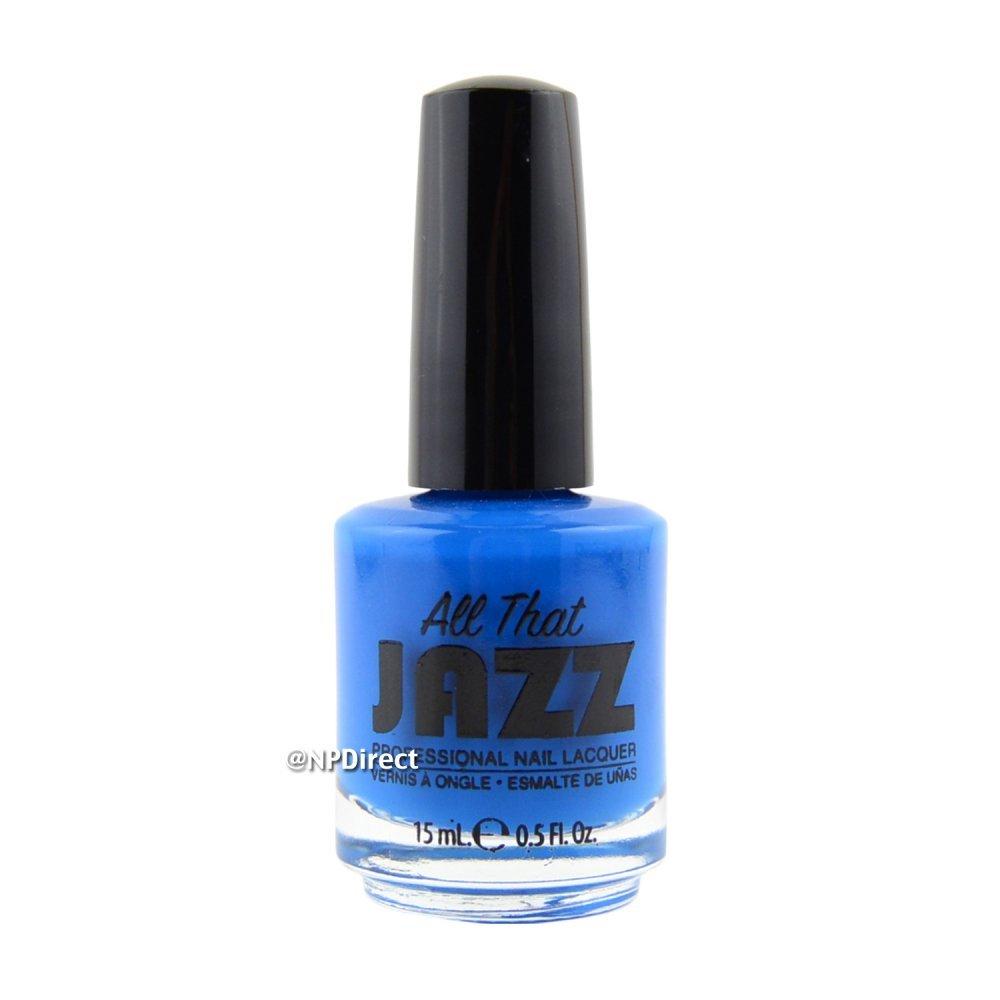 Blue Nail Varnish Uk: All That Jazz Nail Polish