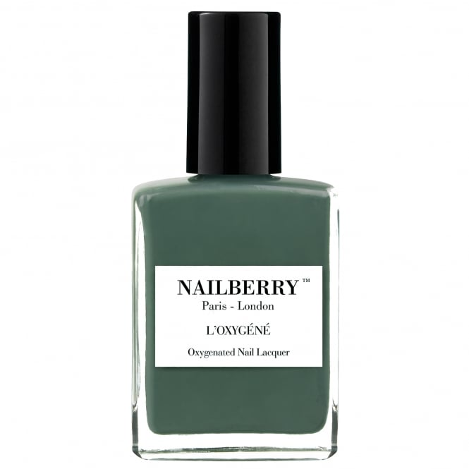 NailBerry Nail Polish Oxygenated Green Therapy Nail Lacquer Collection - Viva La Vegan 15ml