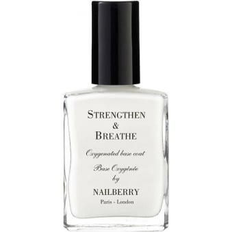 Nail Polish Oxygenated Nail Basecoat - Strengthen & Breathe 15ml