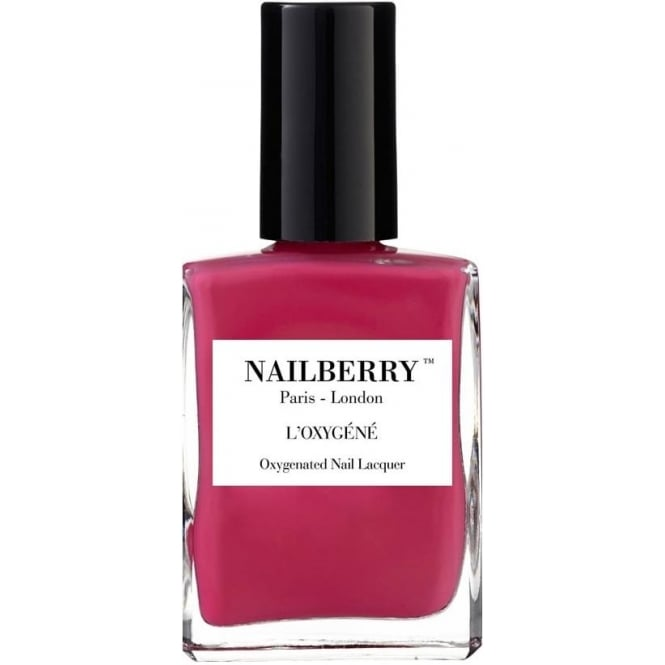 NailBerry Nail Polish Oxygenated Nail Lacquer - Pink Berry 15ml