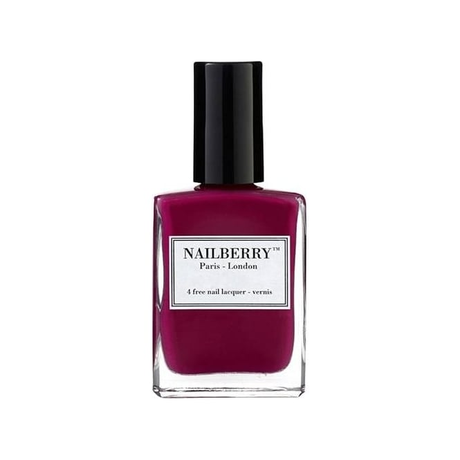 NailBerry Nail Polish Oxygenated Nail Lacquer - Raspberry 15ml
