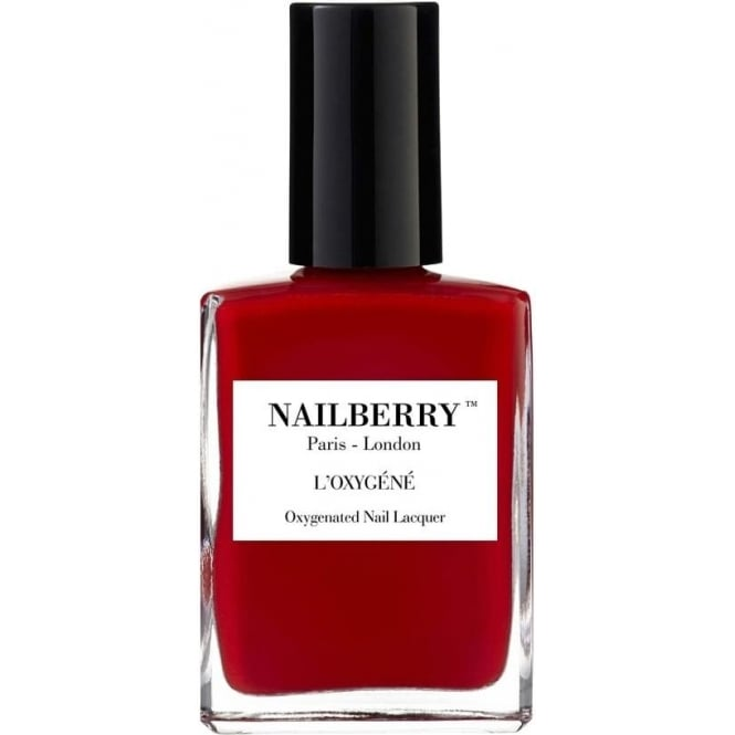 NailBerry Nail Polish Oxygenated Nail Lacquer - Strawberry Jam 15ml