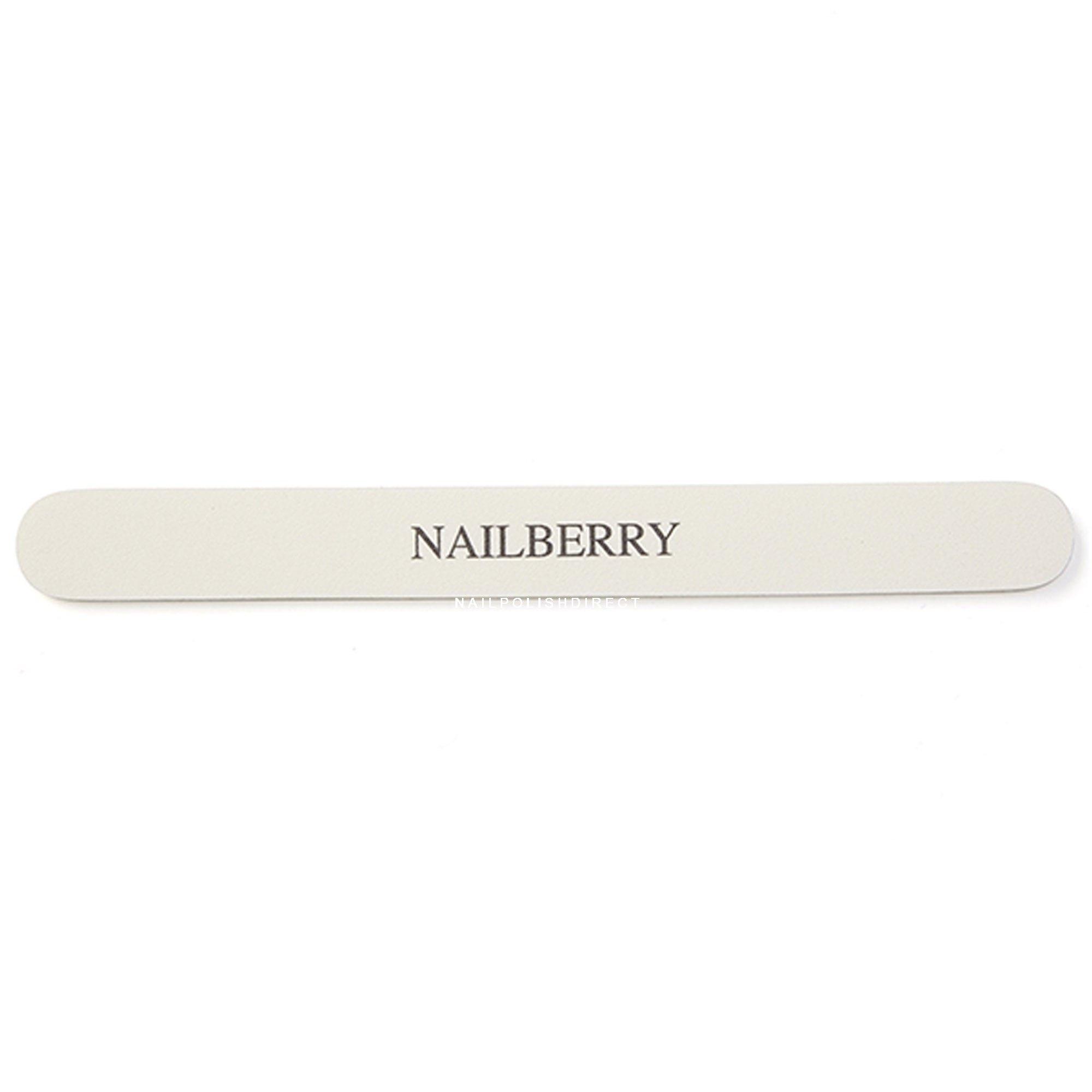 NailBerry White Natural Nail File
