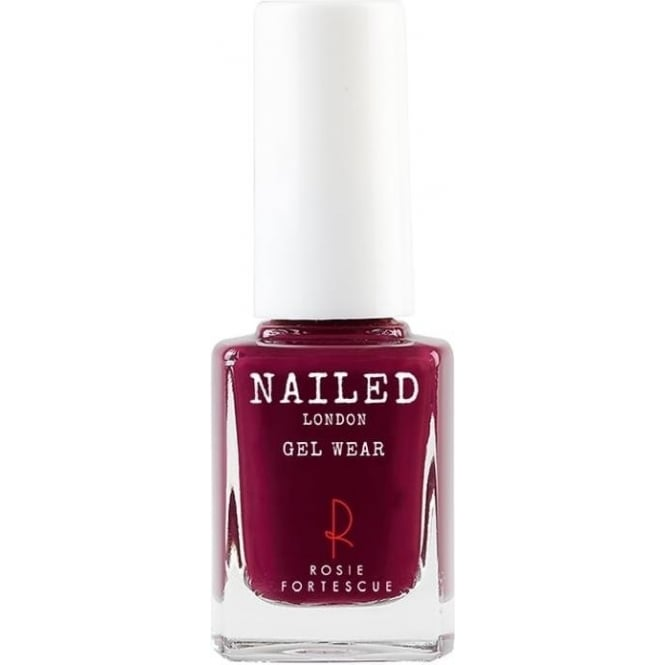 Nailed London Self Cured Gel Wear Nail Polish - Berry Sexy 10ml (023)