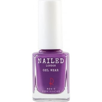 Self Cured Gel Wear Nail Polish - Crimson Crazy 10ml (009)