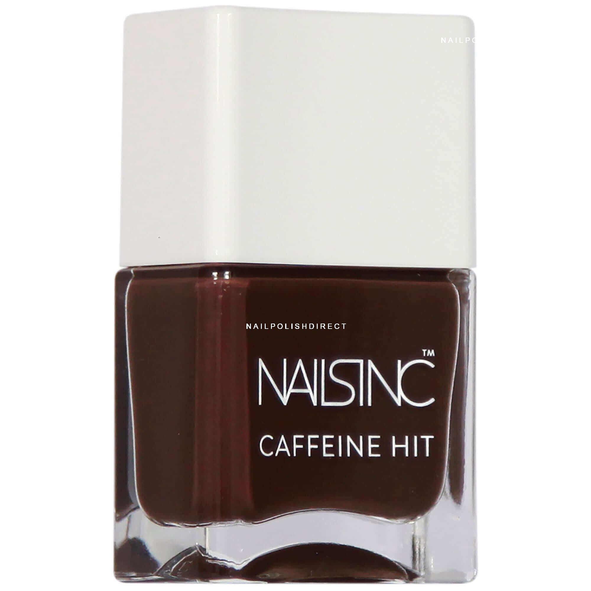 Nails inc Caffeine Hit Collection - Espresso Martini Nail Polish 14ml