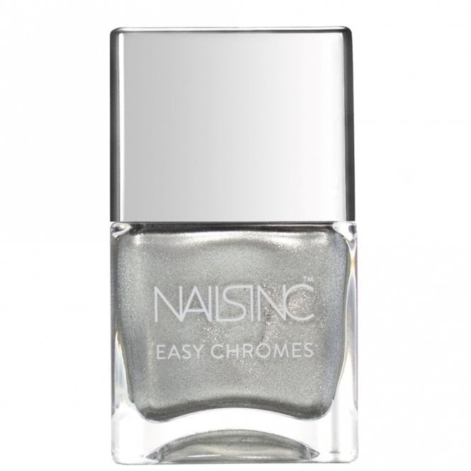 Nails inc Easy Chromes Nail Polish - Steely Stare (9718) 14ml