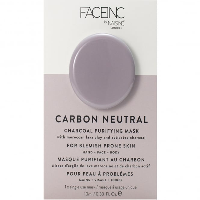 Nails inc Face Inc - Charcoal Purifying Masak - Carbon Neautral (9322) 10ml