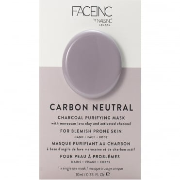Face Inc - Charcoal Purifying Masak - Carbon Neautral (9322) 10ml