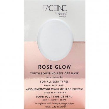 Face Inc - Youth Boosting Peel Off Mask - Rose Glow (9323) 10ml