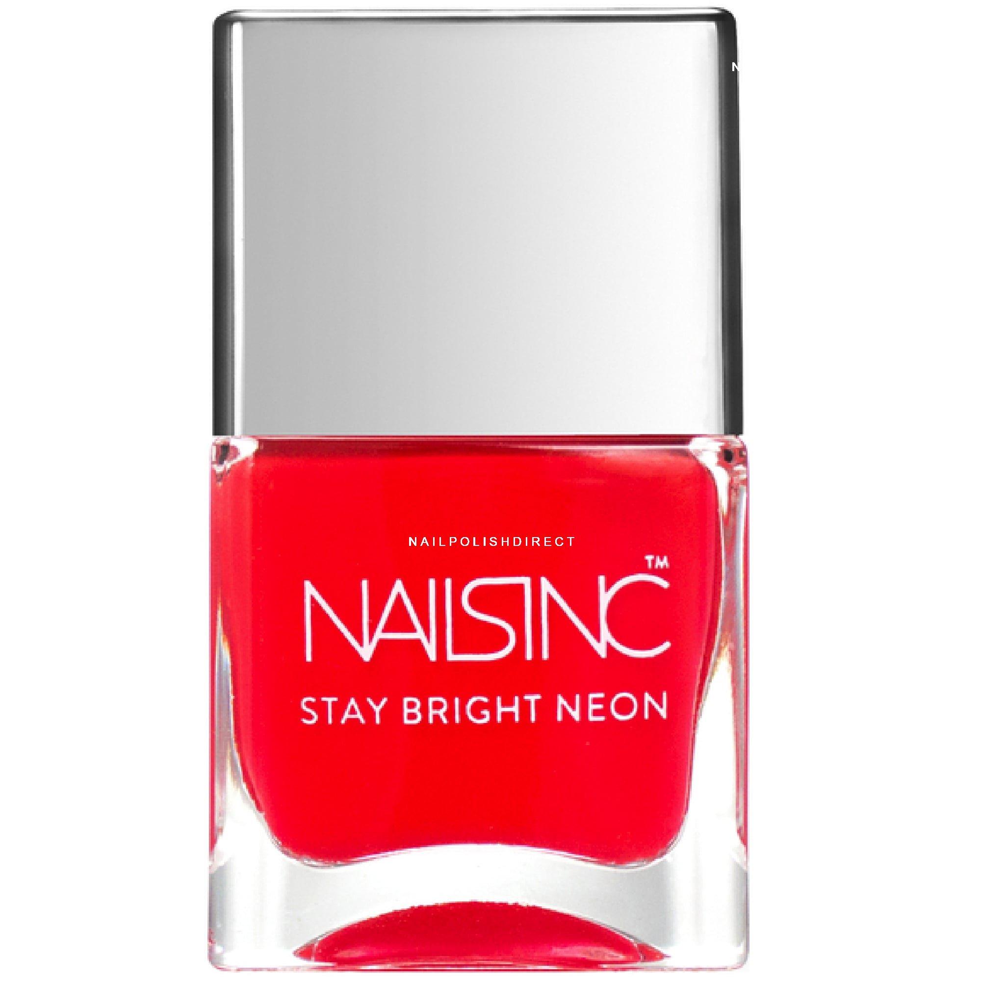 Neon Nail Polish Uk: Nails Inc Stay Bright Neon Polish