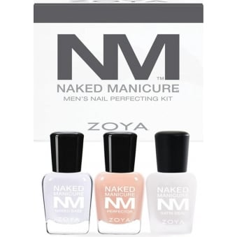 Naked Manicure 2015 Nail Polish Collection - Men's Starter Kit (ZPNMMENRETKIT01)