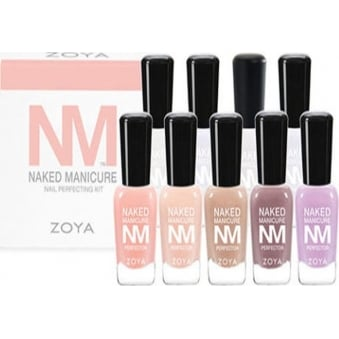 Naked Manicure 2015 Nail Polish Collection - Mini Professional Kit (9 X 7.5ml) (ZPNMPROKITOR)