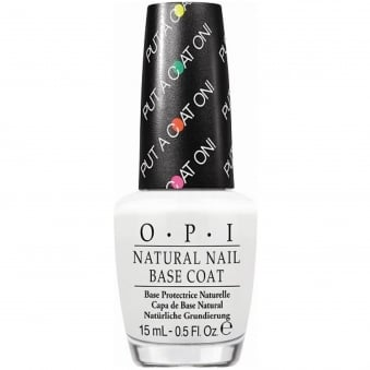 Natural Nail Color-Boosting Base Coat - Put A Coat On! 15ml (NT N01)