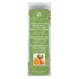 Natural - Tuscan Citrus Herb Pedicure Fizz with White Tea Tree Oil 155g
