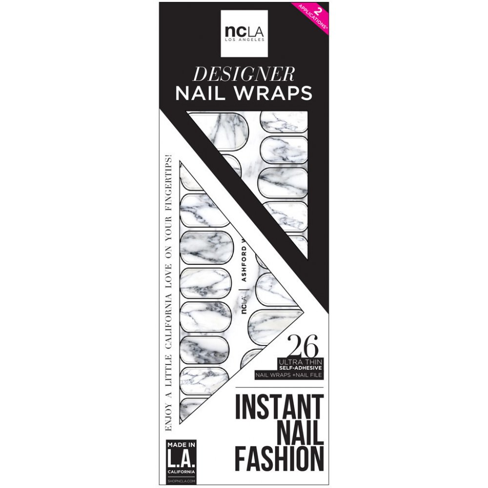 Ncla Instant Nail Fashion Designer Nail Wraps Ashford Rock